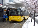 Haute-Nendaz, station poste -- ligne 362 -- Lathion 1 / CarPostal 10492