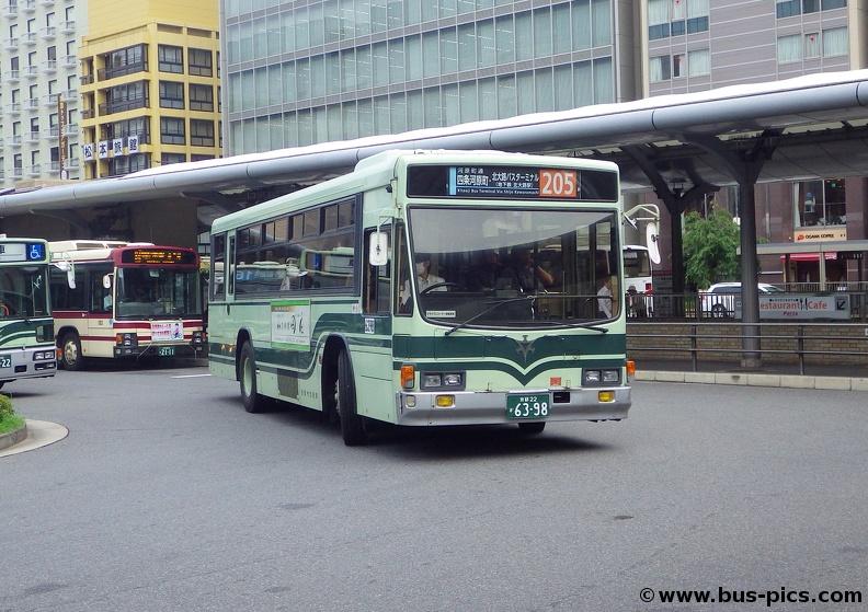 205 京都 市バス